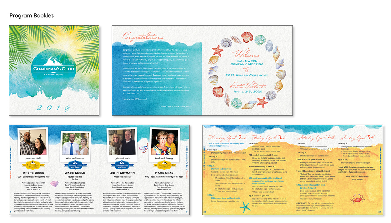 Image of printed program booklet.