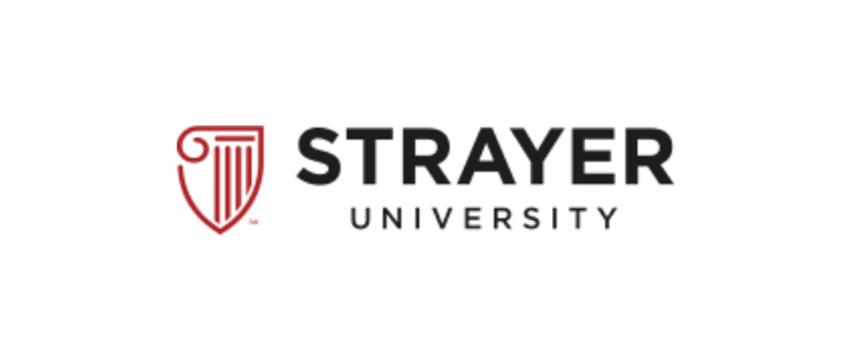 Image of Strayer University Logo.
